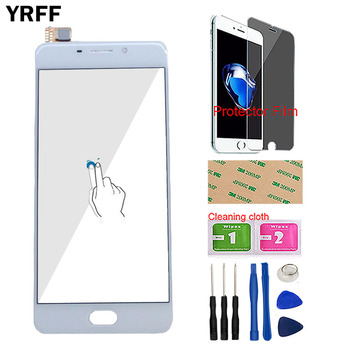 5 5 meizu m3 note m681h l681h touch panel screen digitizer lcd display glass sensor lens touchscreen meizu m3 note touch screen 5.5'' Phone Touch Screen For Meizu M6 Note Touch Screen Panel Sensor For Meizu Meilan Note 6 Front Glass Tools Protector Film