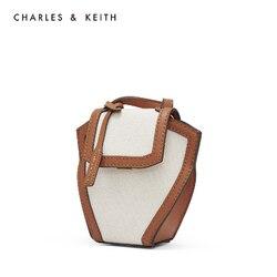 CHARLES & KEITH nouveauté pour printemps 2020 CK2-80781138 sac à bandoulière pour femme sac à bandoulière