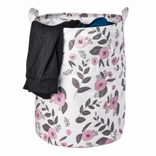 Urijk Laundry Basket Large Hamper Foldable Bag For Dirty Clothes Organizer Picnic Baskets Home Toy Gift Organizer Laundry Bags