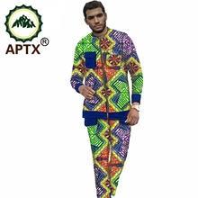 2021 африканская одежда для мужчин Модный Красочный стиль Дашики