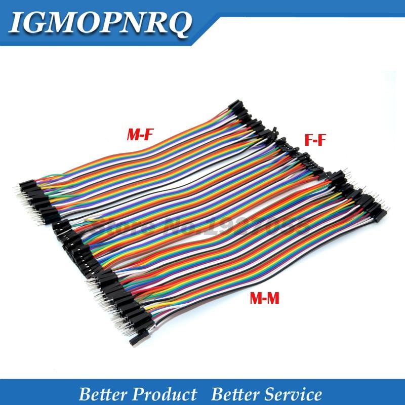 Dupont 120 шт 40PIN 20 см Dupont линия папа Папа + мама и мама мама Dupont провод кабель для DIY KIT|Интегральные схемы|   | АлиЭкспресс
