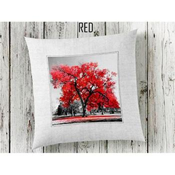 Red 3d Pillow decorate image