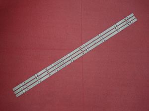Image 3 - 3 PCS LED backlight strip for LG 43UH619v 43UH620V 43UH610V 43UH6030 43UF6407 43LH60_FHD_A  UF64_UHD_A 43LH60FHD 43UF6409