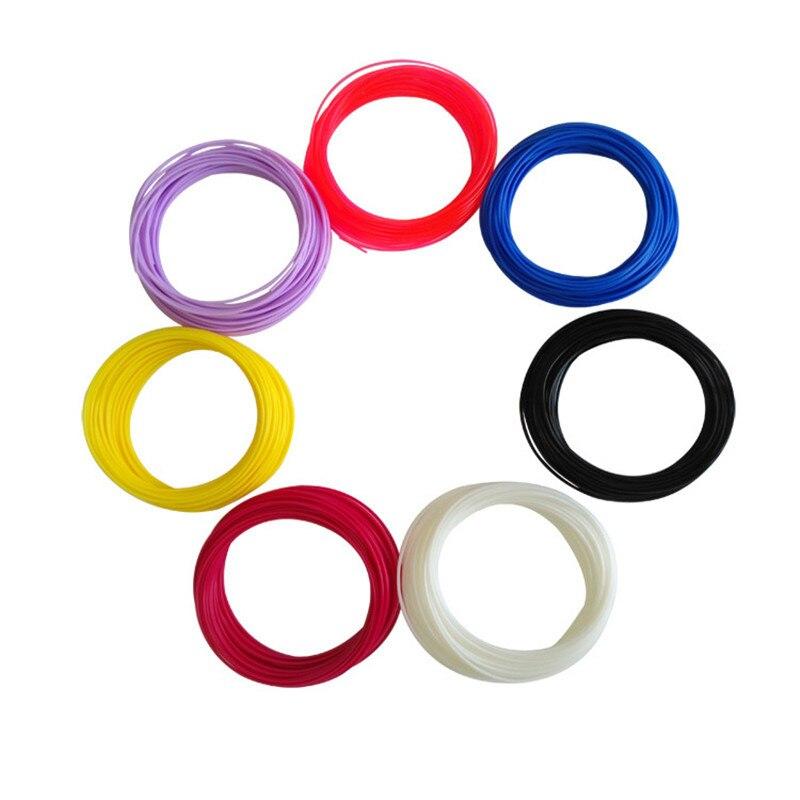 Aive 3d printer filament 3D Printing Pen 10M 30 Colors 1.75MM PLA Threads Plastic 3d Materials Refills Modeling Stereoscopic