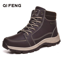 Size39-48 Autumn Winter Outdoor Sport Hiking Shoes Wear Resisting Trekking Ankle Boots Tactical Sneaker For Man Hunting Footwear