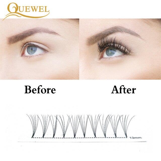 Premade Volume Fans Lash Russian Volume Professional Eyelash Extensions C&D Curl Eyelash Extension Faux Mink Quewel 3D/4D/5D/6D 2
