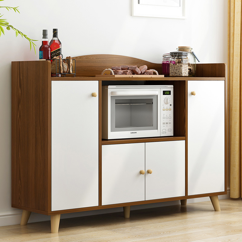 Modern Minimalist Sideboards Cabinet Multi-functional Cabinet Sub-Band Door Northern European-Style Simplicity Kitchen Economica