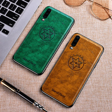 Star of David leather case For Huawei P30 Pro cover soft frame Leather phone