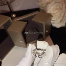 Frauen Schmuck Ringe 925 Sterling Silber Diamant Ring Cm Paris Marke Luxus Bague Dame Anello Donna Anel De Senhora Original box(China)