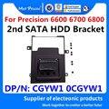 Laptop NEUE 2nd SATA HDD Halterung 2nd SAT AHDD Festplatte Caddy für Dell Präzision 6600 6700 6800 M6600 M6700 m6800 CGYW1 0CGYW1 Laptop-Ständer Kraftfahrzeuge und Motorräder -