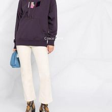 Embroidered Sweatshirt Women Hoodie Multicolor Sports Fashion Casual Letter Early-Spring