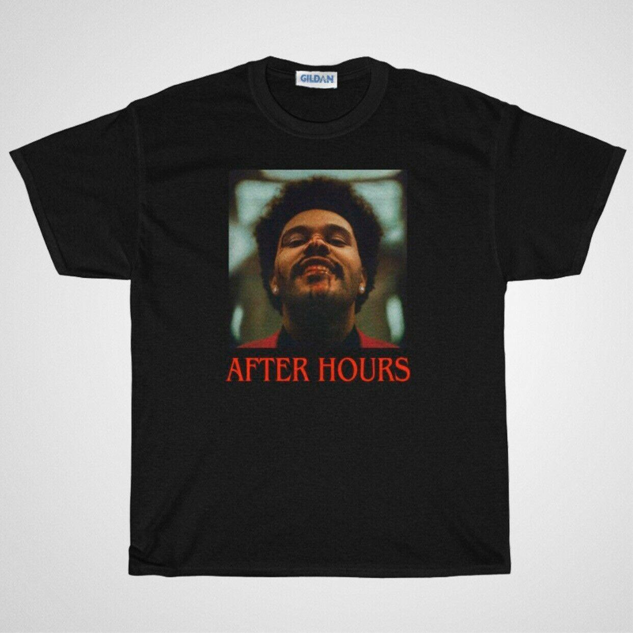 The Weeknd After Hours Album Merch Unisex T-Shirt