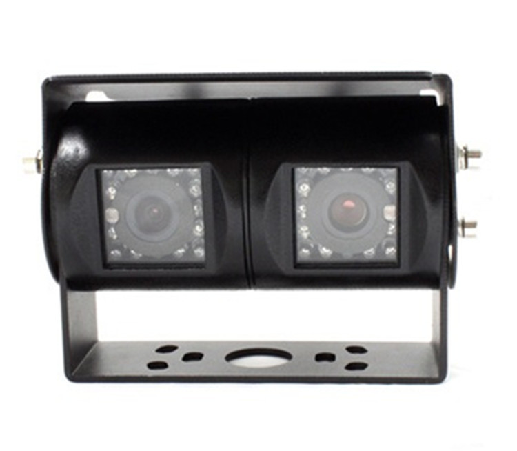 Double Headed Truck Bus High-definition Night Vision Infrared Camera CCD Waterproof Wide Voltage PZ470-2