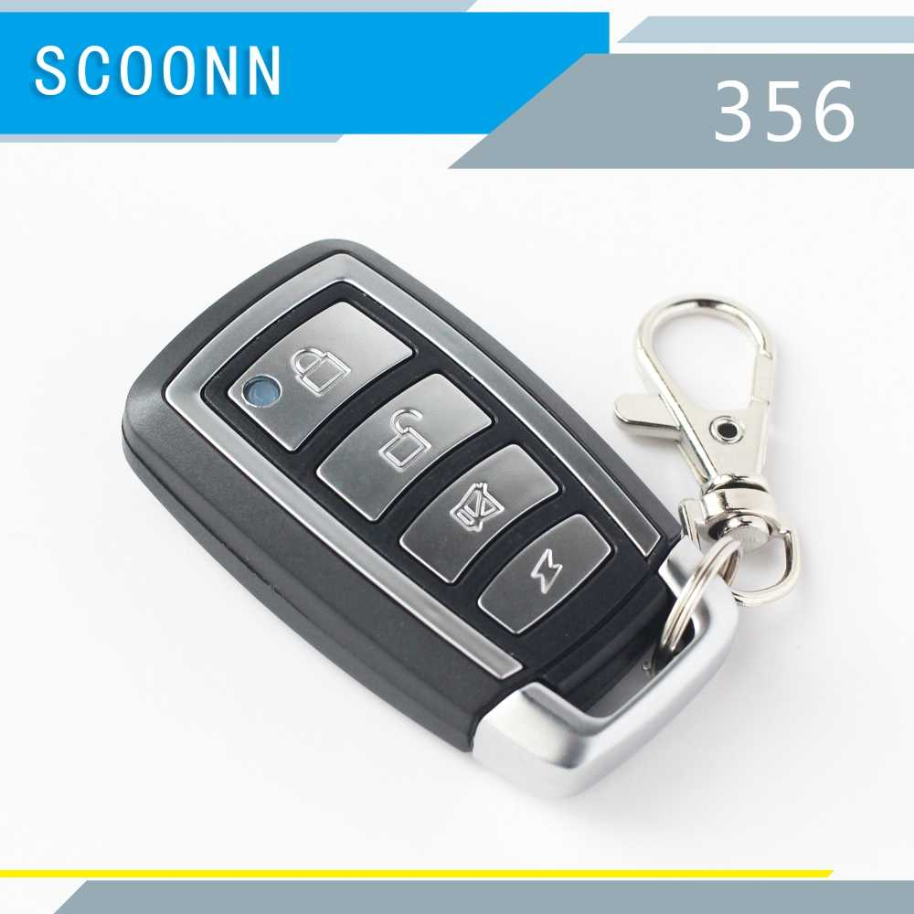 ไร้สาย 433 MHz ประตูรีโมทคอนโทรล REMOTE CONTROL เครื่องสแกนเนอร์สำหรับโรงรถประตูรถ Key FOB ประตู key