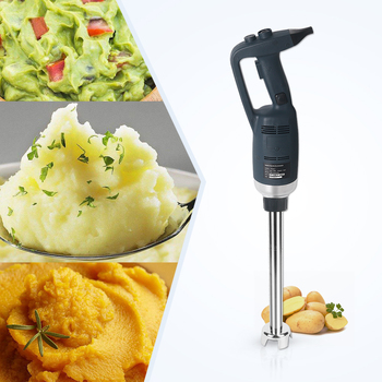 Electric Immersion Blender with 500mm long Stainless Steel Rod and Variable Speed