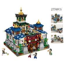 Мини конструктор chinatown в виде городского пейзажа сборный