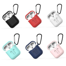 2-IN-1 capa,cases for Airpods Sport Silicone Candy Color for airpods case Soft Earphone Case for Air Pods Apple 1&2 Cute Cover