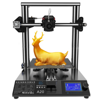 Geeetech A20 3d Printer Fast Assembly High Accuracy With GT2560 Board Break Resuming Capability and Aluminum Profile Frame