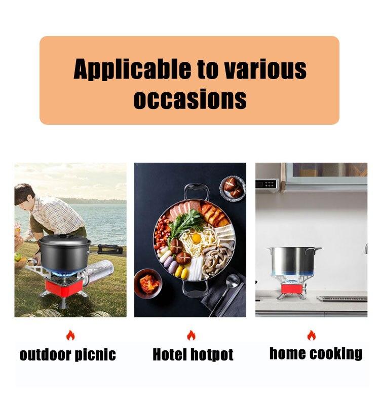 mais leve equipamento turístico cilindro cozinha propano grill
