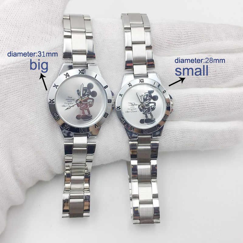 אופנה Reloj  עכבר שעון לנשים 3D קריקטורה מיני מקרית גבירותיי קוורץ שעונים נקבה נירוסטה montres femme