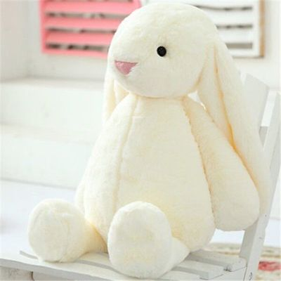 30cm Big Ears Bonnie Rabbit Plush Toys Stuffed Rabbit Soft Toys Baby Kids Sleep Toys Birthday Gifts For Girl.