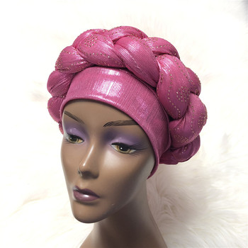 Braided Head Band Turban (Assorted) 4