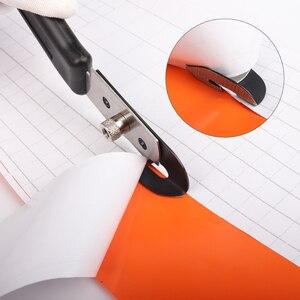 Image 5 - FOSHIO PTFE Vinyl Cutter Carbon Fiber Vinyl Car Wrap Film Cut Utility Knife+10PCS Blade Window Tint Paper Sticker Cutting Tool