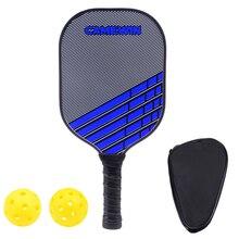 Новая ракетка из углеродного волокна для пикклбола, ракетка для пикклбола, унисекс, теннисные ракетки, композитная ракетка для пикклбола, весло для мяча, спортивные аксессуары