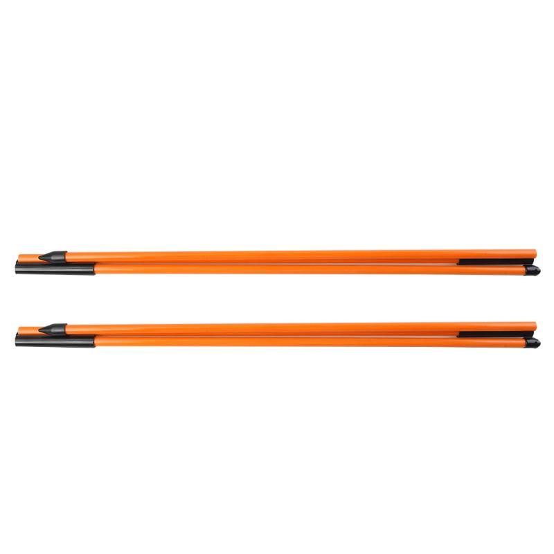 2pcs Golf Alignment Sticks 3 Sections Golf Putting Position Training Tool