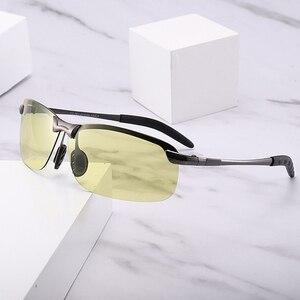 Image 5 - สีเปลี่ยนแว่นตาแสงอัตโนมัติAnti High Beamแว่นตากันแดดNightและวันแว่นตากันแดดผู้ชายขับรถ