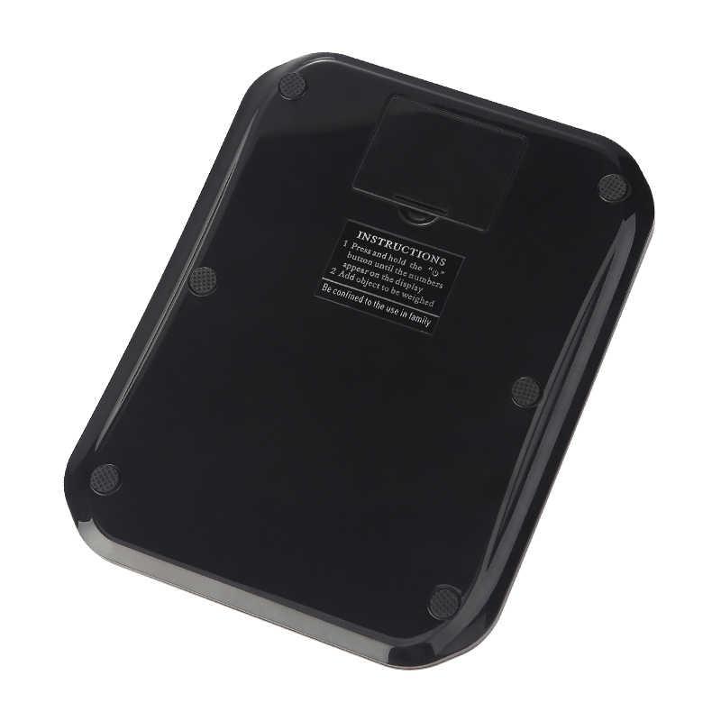 10 kg/3 kg/5 kg-0.1g przenośna waga cyfrowa wysoka precyzja bilans żywności LED wagi elektroniczne pocztowy waga pomiarowa waga kuchenna