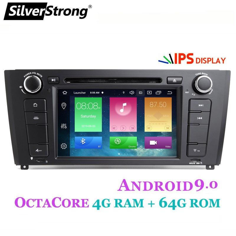 SilverStrong OctaCore DVD de voiture pour BMW Android9.0 E81 E82 E88 2004-2011 1 série avec puce Radio ROM 64GB TEF6686 Amp IC TDA7851