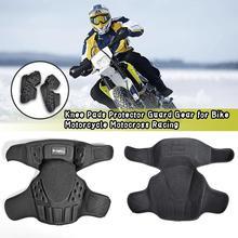 1 זוג אופנועים הברך רפידות מוטוקרוס מגן משמר כובעי הילוך Moto הברך מגן ציוד מגן אופנוע רכיבה מירוץ
