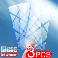 3Pcs Protective Glass For iPhone 12 11 Pro Max XS XR 7 8 6 Plus Screen Protector For iPhone 12 Pro Max 12 Mini Tempered Glass