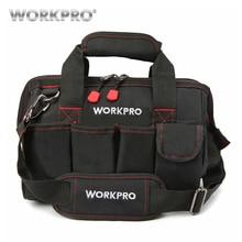 WORKPRO 12 дюймов сумка для инструментов 600D полиэстер электрик Наплечная Сумка Наборы инструментов сумка