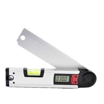 Inclinomètre d'inclinomètre de niveau de rapporteur d'angle d'affichage numérique électronique d'alliage d'aluminium