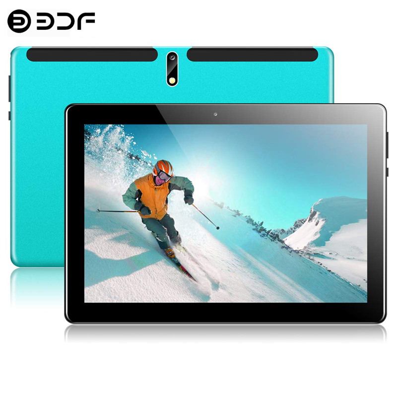 New System 10.1 Inch Tablet PC 2.5D Steel Screen Android 9.0 8GB+128GB ROM Ten Core 4G Phone Call Bluetooth Wi-Fi Tablet +Keyboa
