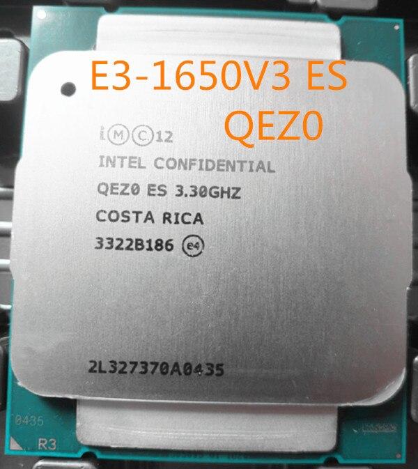 E5 1650V3 ES версия QEZ0 Стандартный ЦПУ процессор 3,30 ГГц 6-ядерный 15M Стандартный