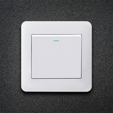 цена на 1/2/3 gang 1/2 way Wall switch certification ccc wall lamp lighting control switches warranty 5 yaer pc power button switch 16A