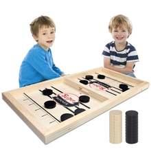 Настольная игра для хоккея с шайбой детей и взрослых 2 игрока