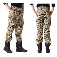 Tactical TAD Shark Skin Softshell Pants Airsoft Combat Clothing Hunting Pants Outdoor Hiking Camouflage Men Fleece Trousers outdoor sports tad shark skin soft shell winter fleece pants tactical military camo pants men windproof warm tactical trousers