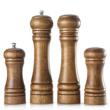 Leeseph Wood Pepper Mill and Salt Shaker Set, Kitchen Gadgets(China)