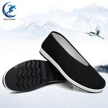 Китайская традиционная обувь в стиле старого Пекина; дышащая обувь Брюса Ли; обувь кунг-фу Тай Чи; военные художественные кроссовки на резиновой подошве для мужчин и женщин