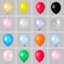 50 adet 10 inç 1.5g inci lateks balonlar düğün dekorasyon kutlama helyum Globos bebek duş çocuk oyuncakları doğum günü balon