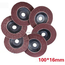 10pcs 13700rpm Angle Grinder Sanding Flap Disc Deburring 80 Grit 100mm*16mm 80#