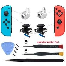 עבור שמחה קון 3D אנלוגי מקל חיישן מודול עבור Nintendo מתג החלפת מתכת נעילת אבזם חלקי תיקון עבור Joycon