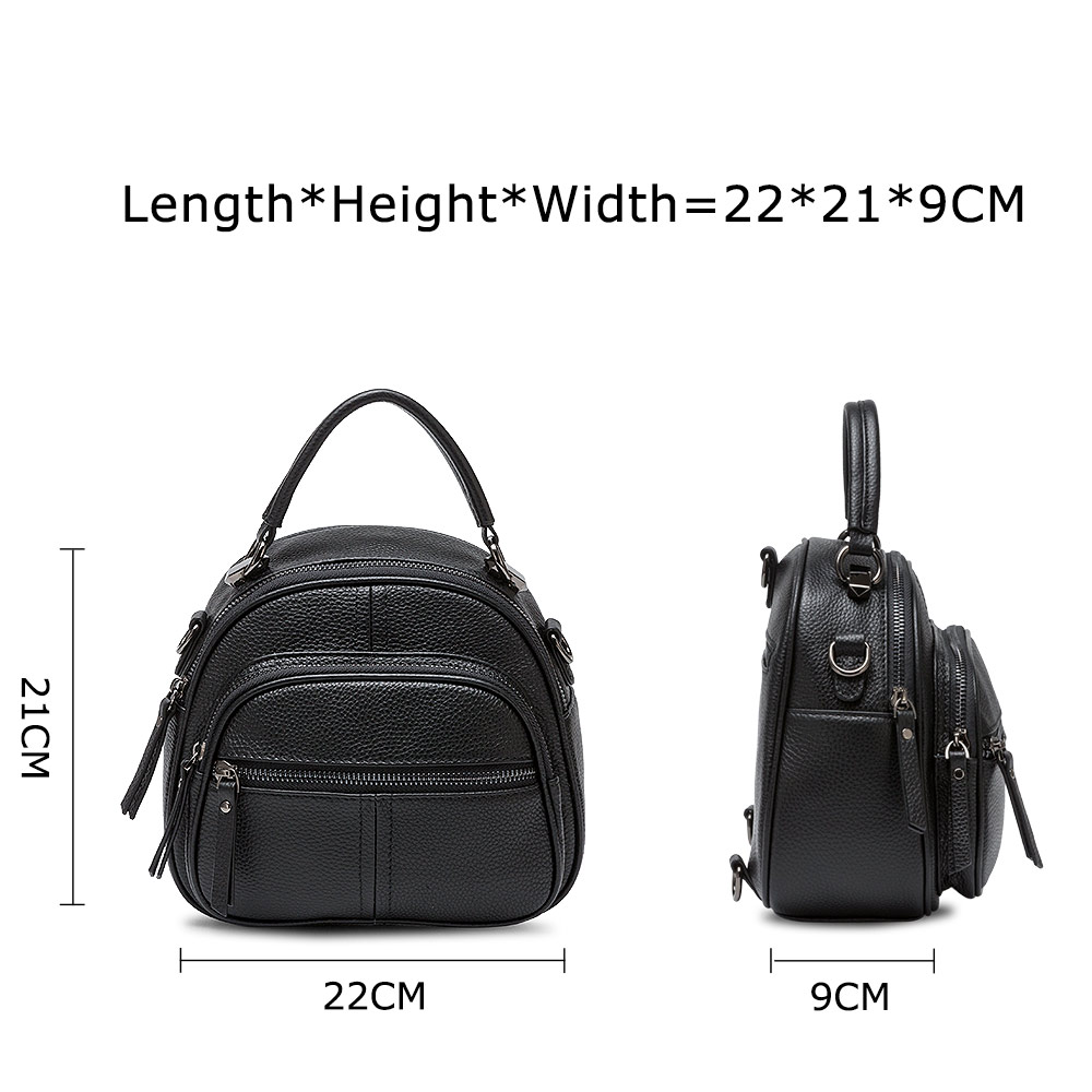 Image 4 - Zency Womens Backpack Made Of Genuine Leather Daily Casual 