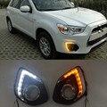 Дневные ходовые огни для Mitsubishi ASX 2013, 2014, 2015, 1 комплект
