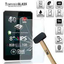 Capa protetora de tela de vidro temperado tablet para allview viva h801 lte cobertura de tela cheia à prova de explosão filme temperado