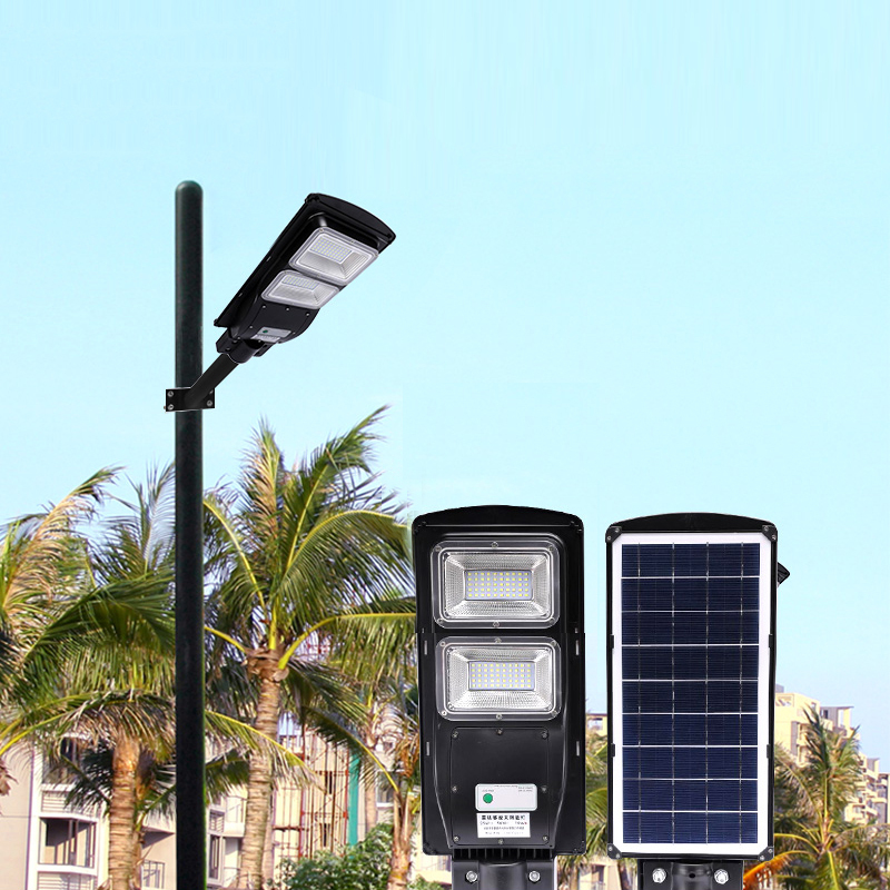 20W/40W Solar Led Rustproof Outdoor Landscape Waterproof Wall Lamp Radar Induction ABS Plastic Street Light+Remote Control